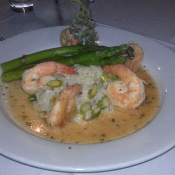 Grilled Shrimp With Asparagus Risotto - Nina, Middletown, NY