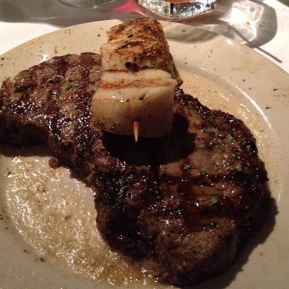 N.Y. Strip With Scallops - Mark's Prime Steakhouse - Gainesville, Gainesville, FL