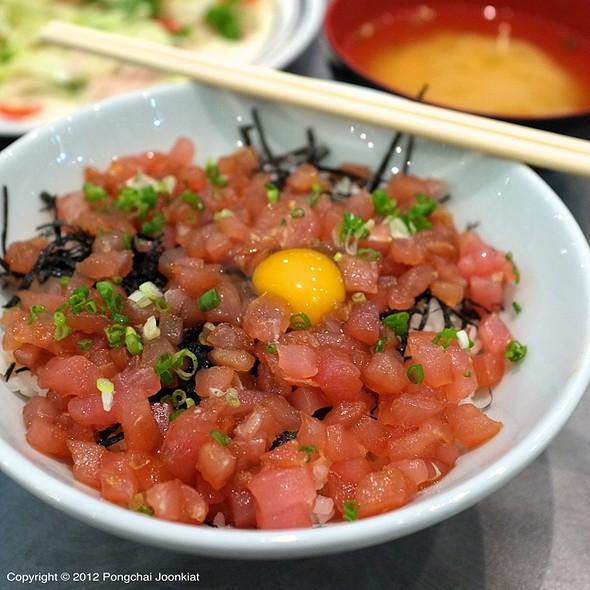Maguro Tartar Gohan @ Fuji Japanese Restaurant