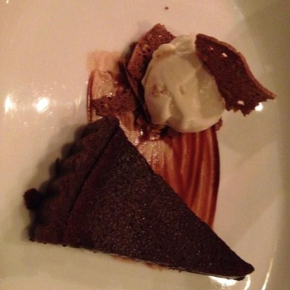 Chocolate Torte With Mascarpone @ La Citta