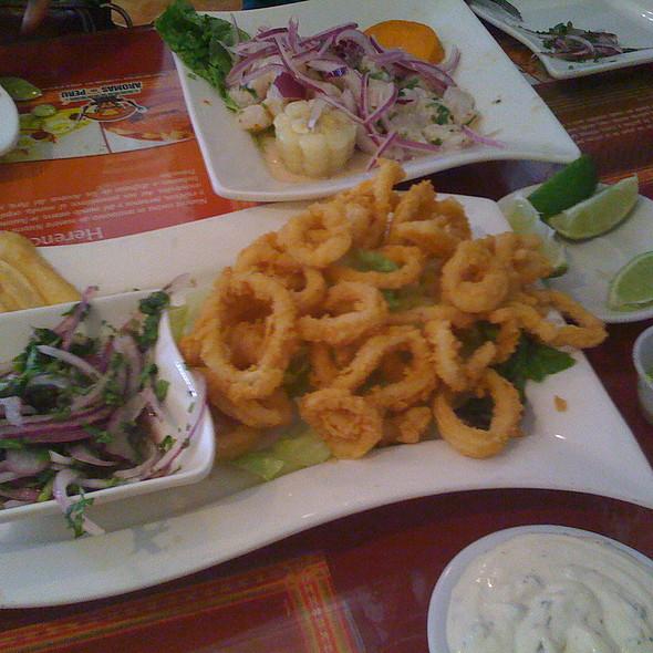 calamari frito at aromas del peru aromas del peru menu   miami fl   foodspotting  rh   foodspotting