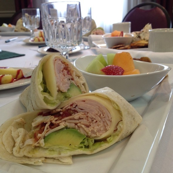 Turkey And Avocado Wrap - Cutler's, Athens, OH