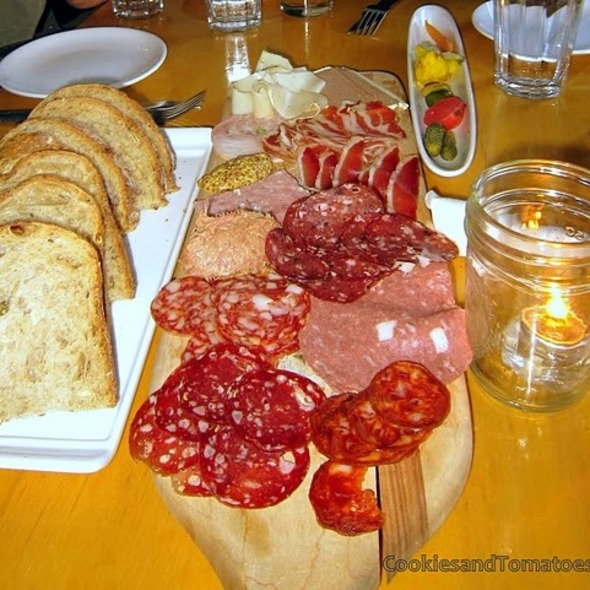 Charcuterie plate @ The Black Hoof