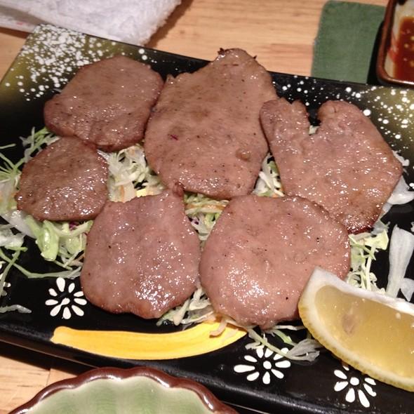 Grilled Ox tongue @ Sake Manzo