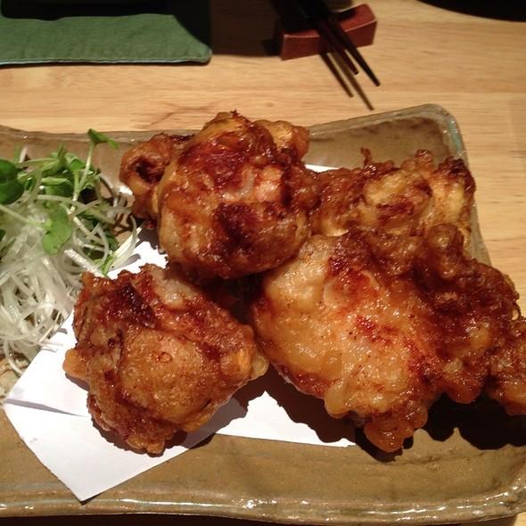 Deep Fried Chicken With Beer Batter @ Sake Manzo