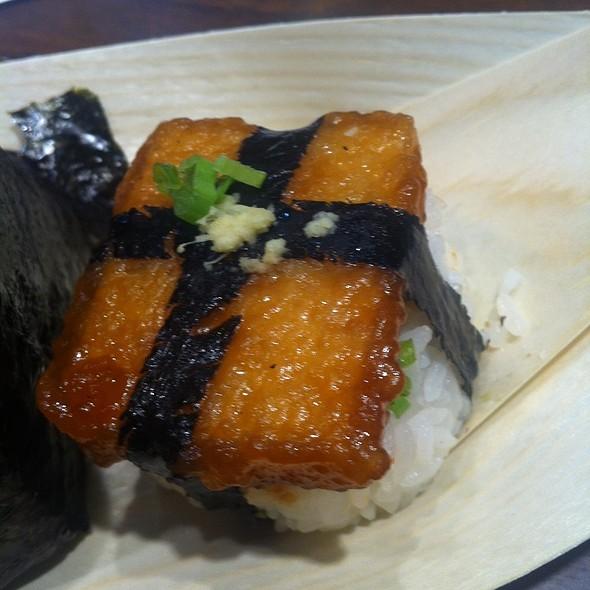 Tofu Steak Rice Ball