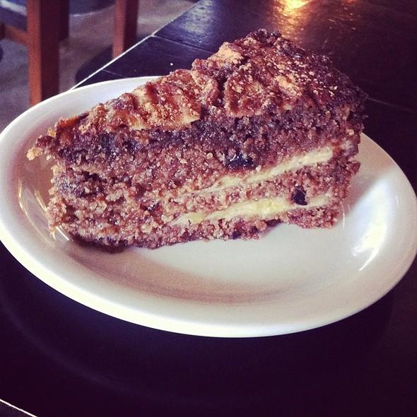 Torta Integral De Banana @ Madureira Sucos