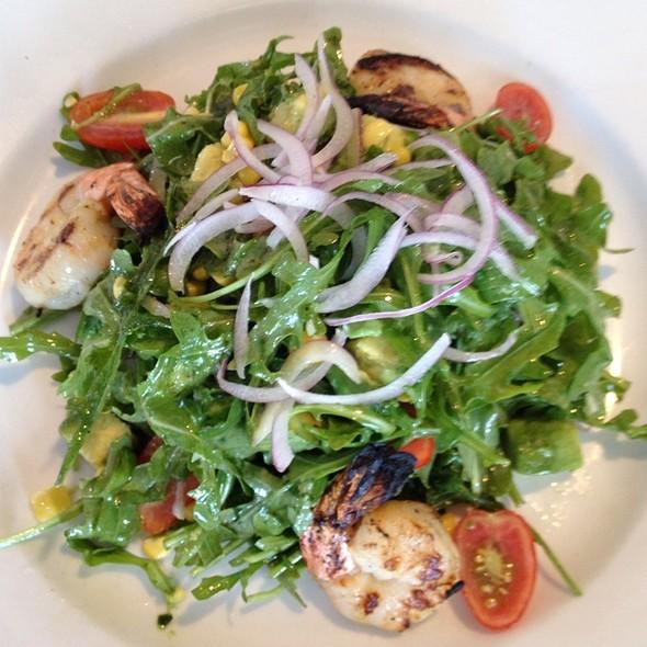 Grilled Shrimp and Avocado Salad @ Navy Beach Restaurant