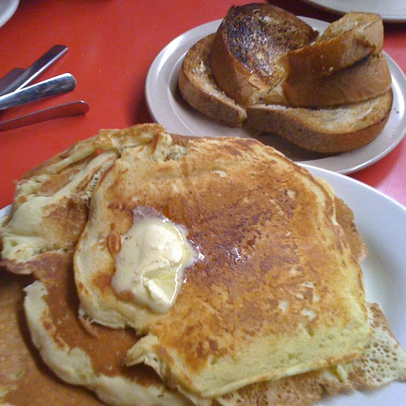pancakes @ Boulevard Diner Inc
