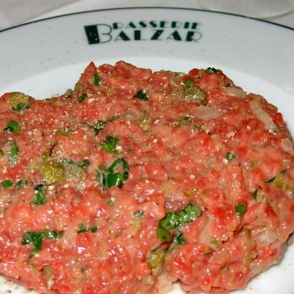 steak tartare @ Brasserie Balzar