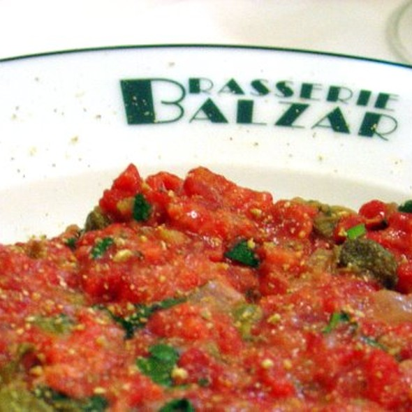 Steak Tartare Detail @ Brasserie Balzar