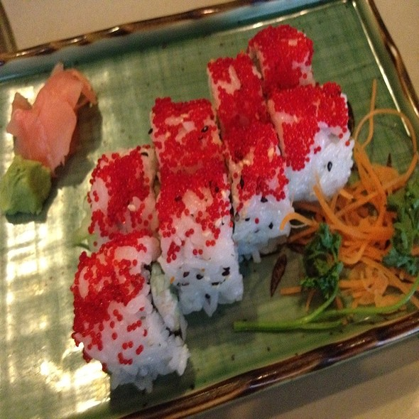 King Crab Roll @ Fujiyama Japanese Steakhouse