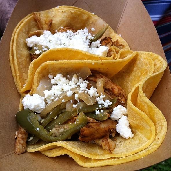 Chicken Mole Taco @ Hot Aztec