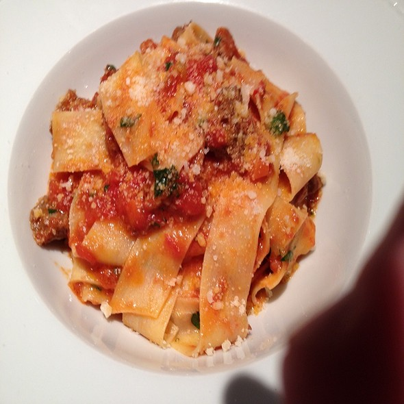 Rabbit Ragu with Pappardelle - Hostaria, Montreal, QC