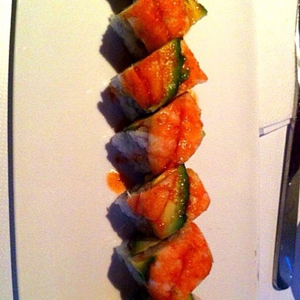 Chilli Shrimp & Spicy Salmon Roll @ My Sweet Tea