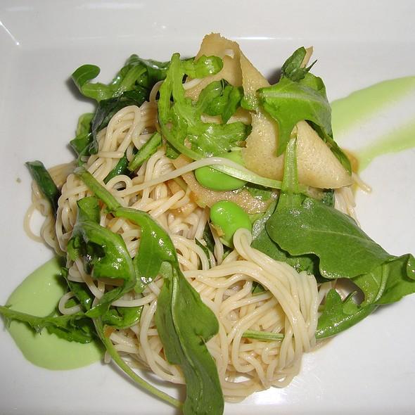 Chilled Somen Noodles - Green Zebra, Chicago, IL