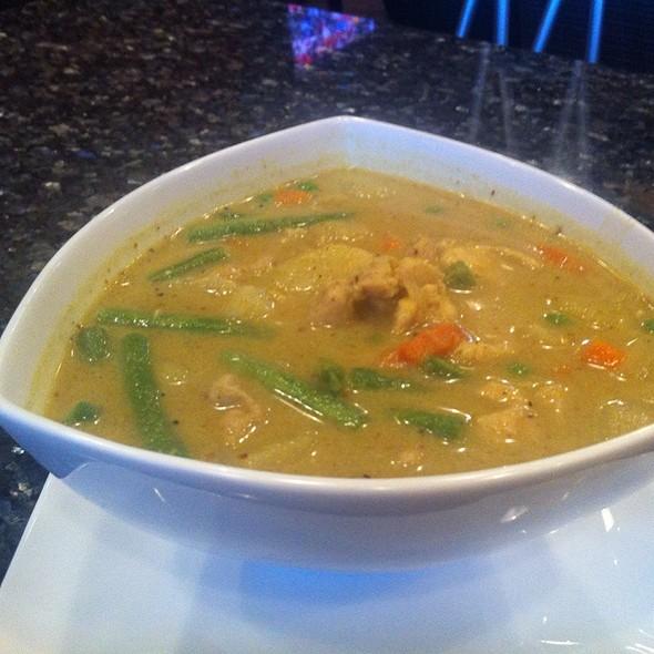 Green Chicken Curry @ Mekong Bistro