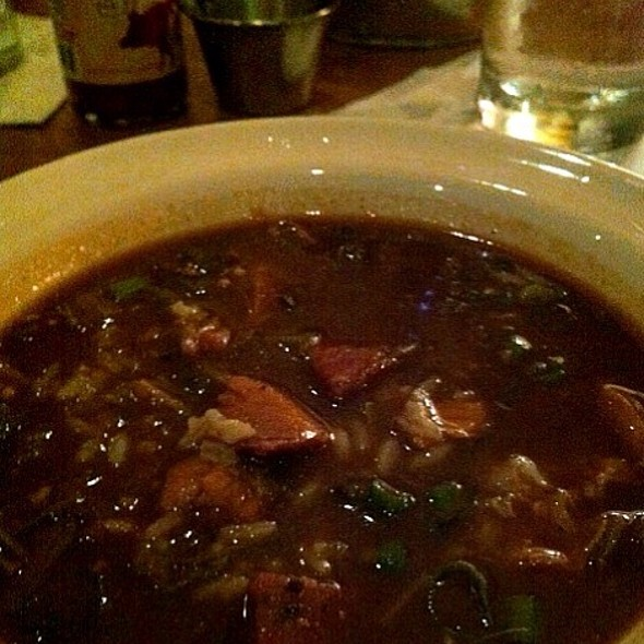 Chicken And Andouille Sausage Gumbo @ Cochon