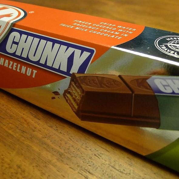 Kit Kat Chunky Hazelnut Cream @ Dufry (Milan Malpensa Airport)