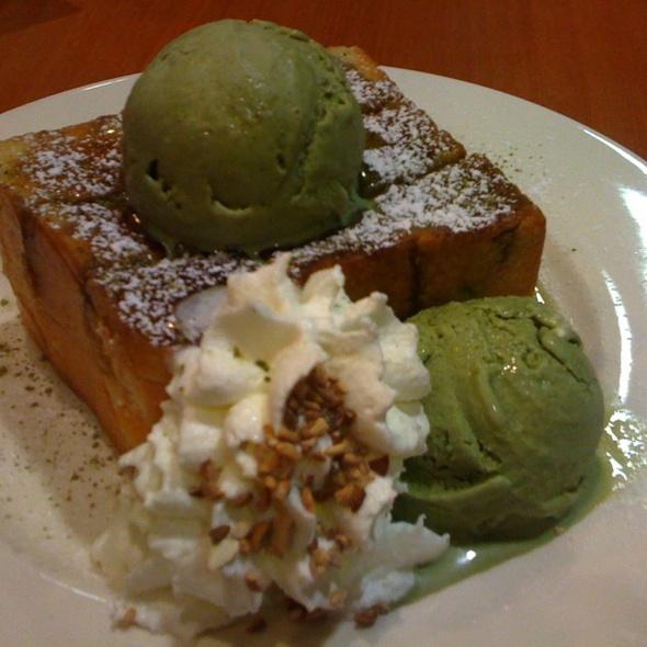 Matcha Honey  Toast @ After You