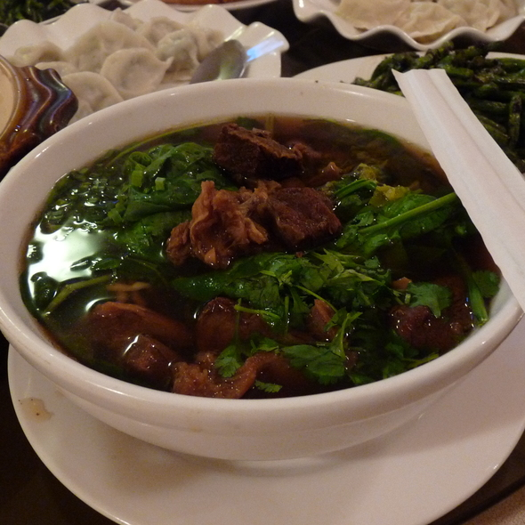 Taiwanese Beef Noodle Soup @ Sun's Chinese Cuisine