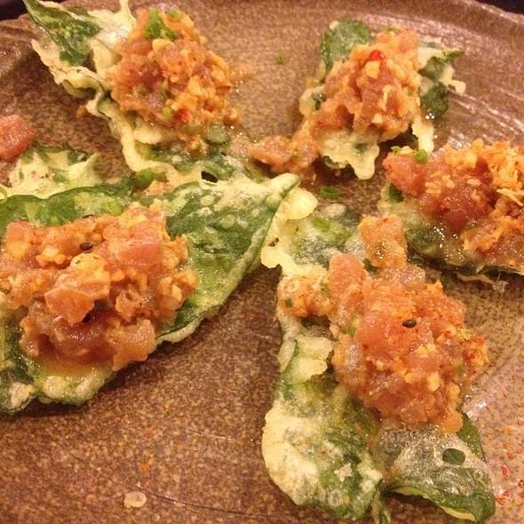 Tuna Tartare @ Sensei Sushi Bar