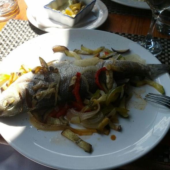 Baked Seabass @ La Forchetta