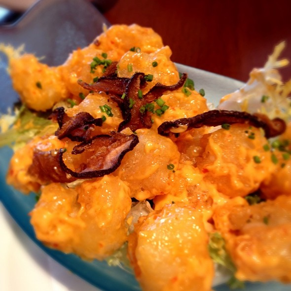 Spicy Thai Shrimp @ Nobu Milano