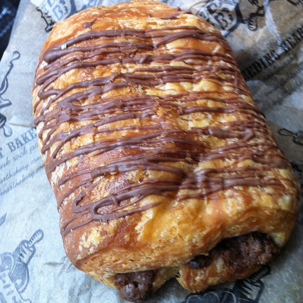 Chocolate Croissant @ Bleeding Heart Bakery