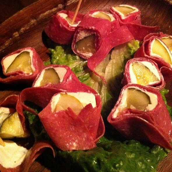 Pickle Roll Ups @ Psycho Suzi's Motor Lounge and Tiki Garden