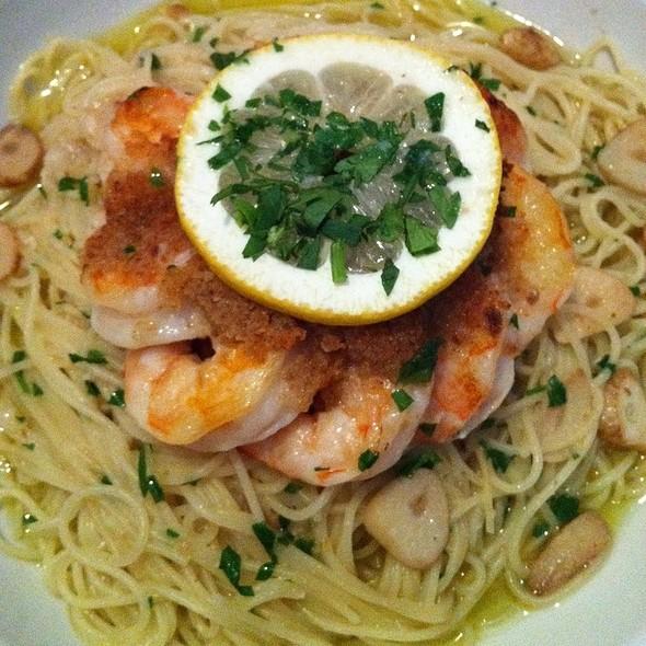 Shrimp Scampi @ Spavone's Ristorante