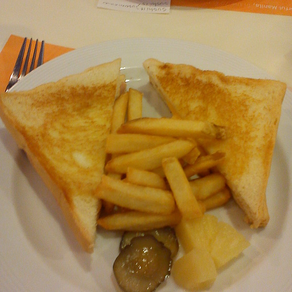 Grilled Ham And Cheese @ Pancake House
