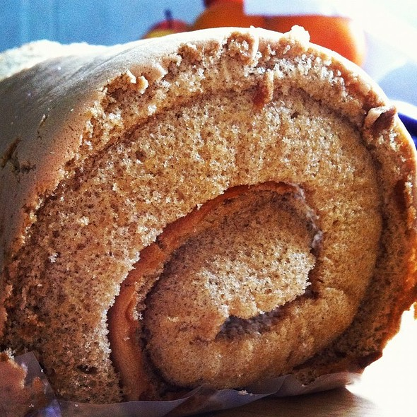 Coffee Swiss Roll @ Galicier Pastry