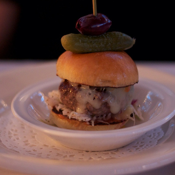 Cheeseburger Slider - The Water Club, New York, NY