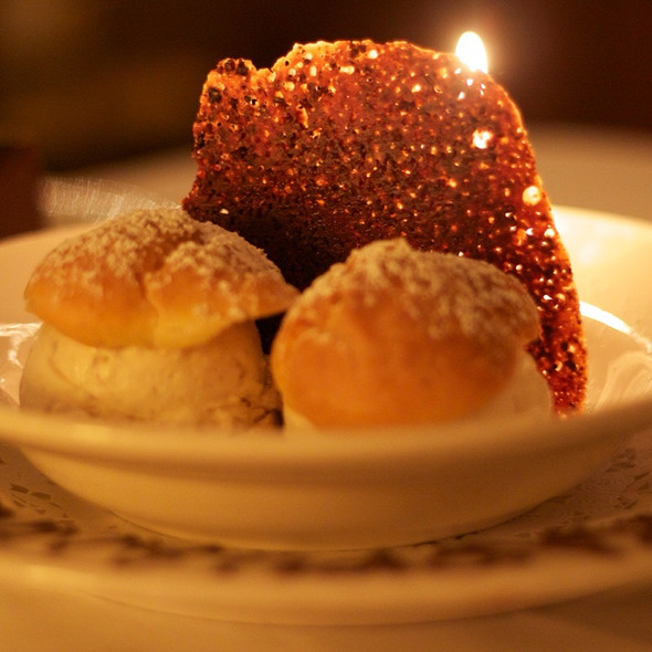 Profiteroles - The Water Club, New York, NY