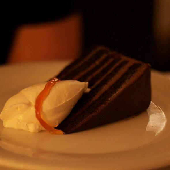 Chocolate Cake - The Water Club, New York, NY