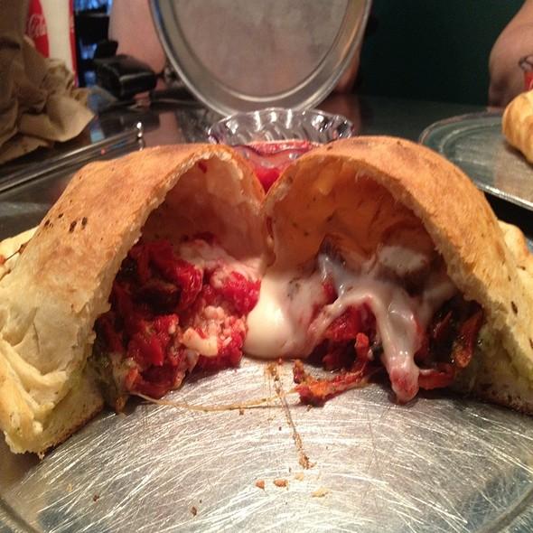 Calzone @ Lupi's Pizza Pies