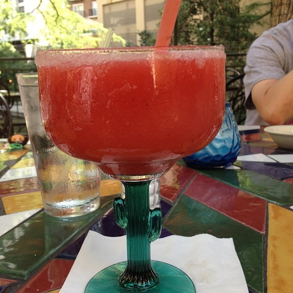 Frozen Strawberry Margarita @ Mexican Manhattan