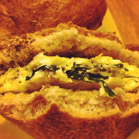 Hot Breakfast Sandwich @ Carolyn's Coffee Connection