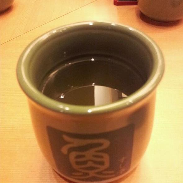 Genmai Green Tea @ Sushi Tei @ NEX