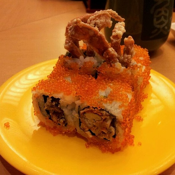 Soft-shell Crab Roll @ Sushi Tei @ NEX