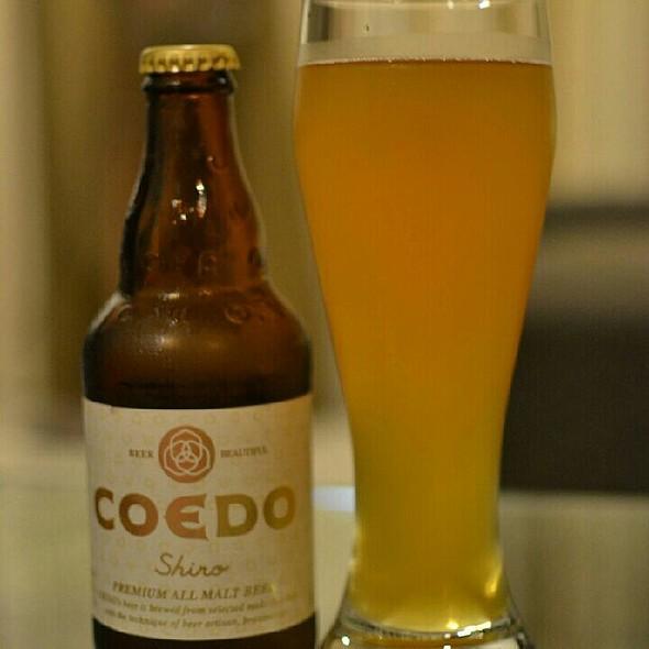 COEDO Shiro Beer  @ Andersen's Of Denmark - Suntec City Mall