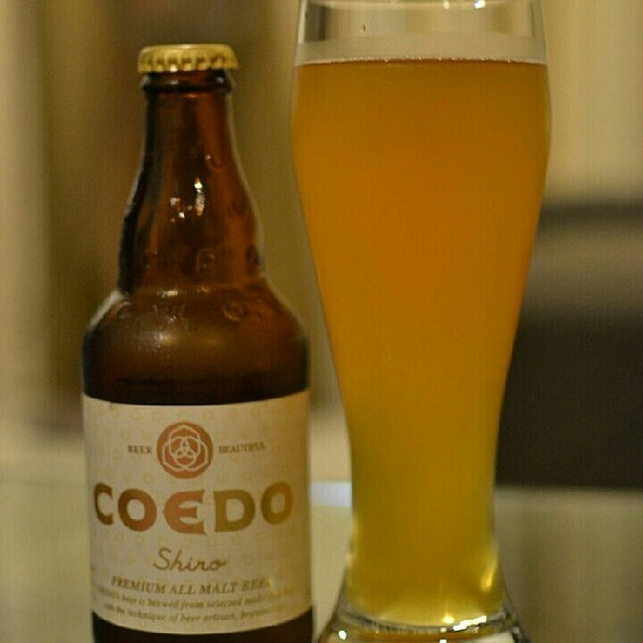 COEDO Shiro Beer  @ Andersen's Of Denmark - Suntec City Mall
