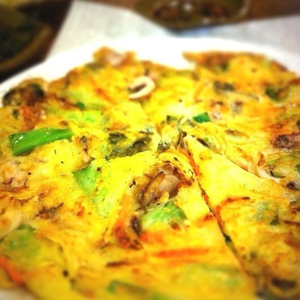 Seafood Korean Pancake @ Sunrise House