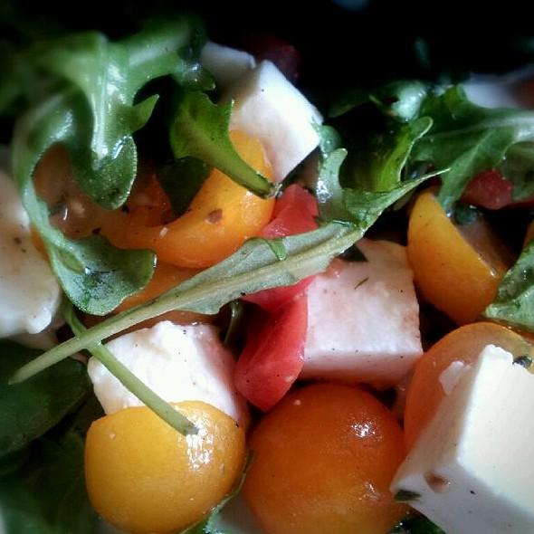 Tomato And Mozzarella On Arugula @ Corner Bakery Cafe