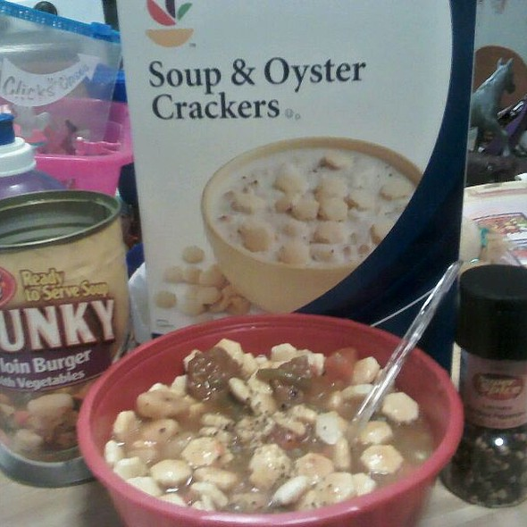 Soup & Crackers @ Home
