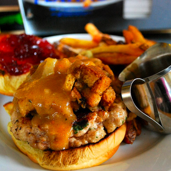 Thanksgivin' Dinner Burger