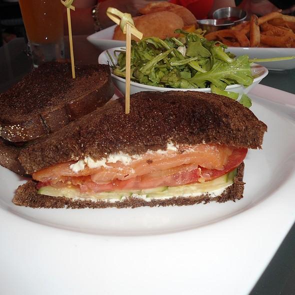 Salmon BLT Sandwich - 50 Ocean at Boston's On The Beach, Delray Beach, FL