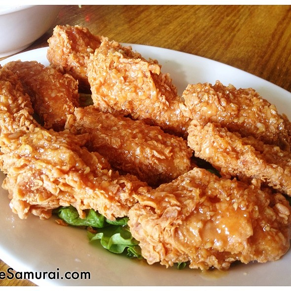 Tempura Chicken Wings @ Vietnam Restaurant