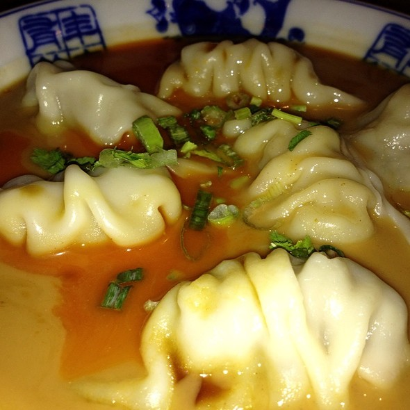 Szechuan Pork Dumplings @ Amy's Restaurant